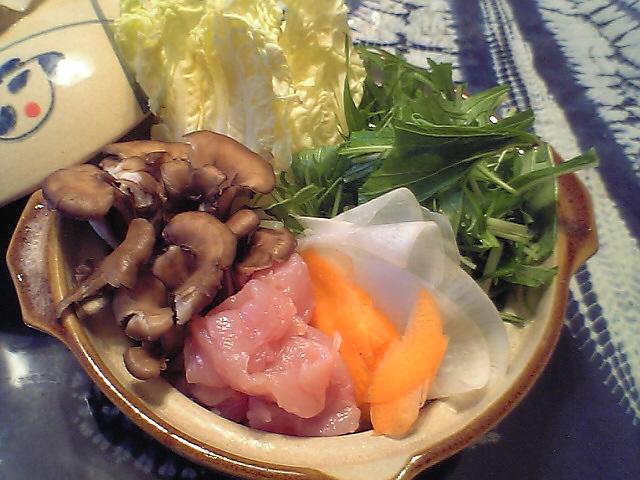 レンコン鍋
