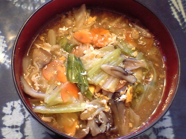 サンマーメン 野菜ラーメン